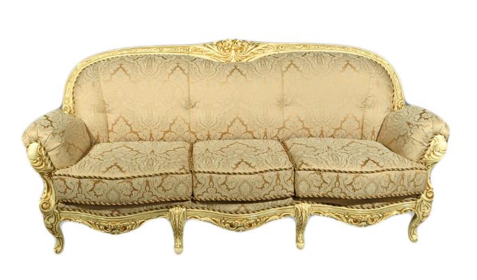 """Кожаный диван в стиле барокко """"Mila"""" (Мила)"""