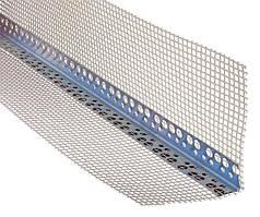 Перфоугол алюминий с сеткой фасадный - 3м