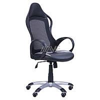 Кресло Nitro черный, сиденье Неаполь N-20, Жемчуг-07/спинка Сетка черная, фото 1