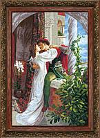 """Набор для вышивания крестом Crystal Art По мотивам Фрэнка Бернарда Дикси """"Ромео и Джульетта"""""""