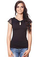 Нарядная футболка женская
