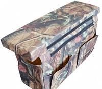 Мягкое сиденье с сумкой СКИФ 600х200х50 Дубок