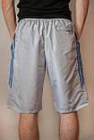 Чоловічі шорти (плащівка), світло-сірого кольору, фото 3