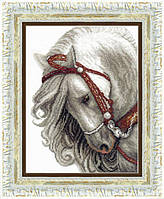 Набор для вышивания крестом Crystal Art Пепел (Конь)