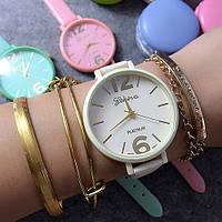 Женские часы GENEVA Candy Белые