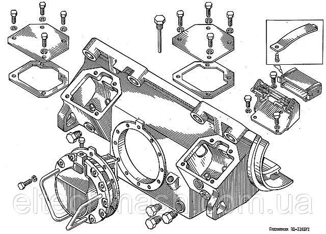 ЭД-118Б, Підшипник осьовий (БИЛТ.304422.002-01)