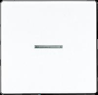 Клавиша 1-я с подсветкой Jung LS 990 белый/слоновая кость