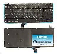 """Оригинальная клавиатура для Apple Macbook pro Retina 13"""" A1502 black, ru, подсветка"""