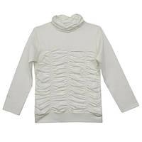 Блуза школьная для девочки с нарядная (трикотажная)