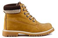 Женские ботинки Palet желтые