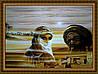 Картина в багетной раме Утомленные солнцем 300х400мм №506