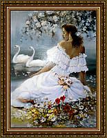 Картина в багетной раме Невеста 300х400мм №510