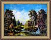 Картина в багетной раме Мельница 300х400мм №309