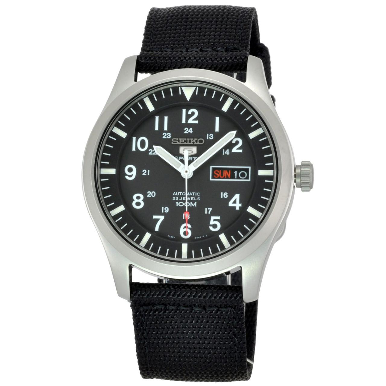 Часы Seiko 5 Military Automatic SNZG15K1
