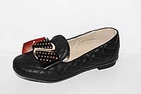 Закрытые туфли для девочек от производителя Super-Gear 13062-5 Черный (31-36)