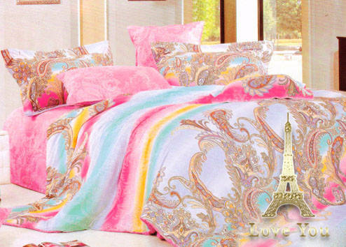 Комплект постельного белья Семейный Love You Сатин-лайт 160х220 TL 13228, фото 2