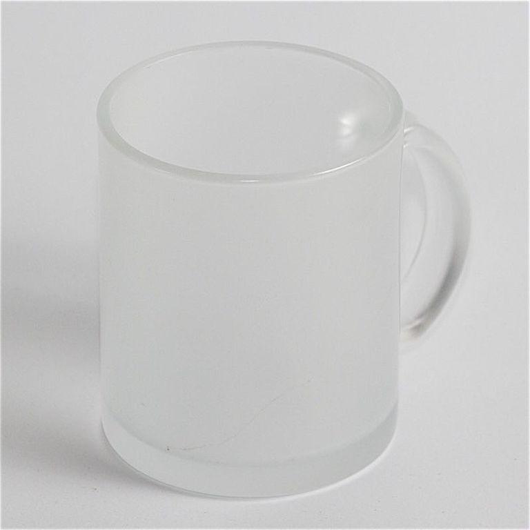 Чашка для сублимации стекло 300 мл (матовая внутри)