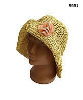 Шляпа для девочки. 53-56 см, фото 1