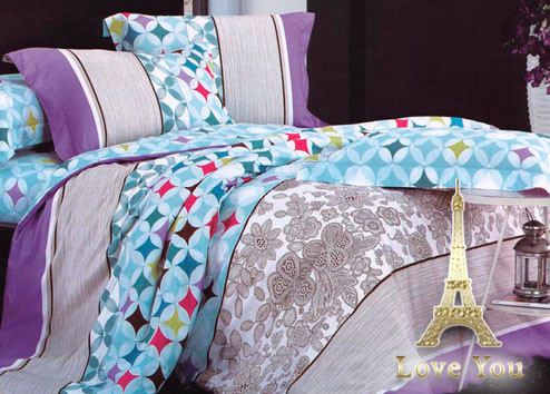 Комплект постельного белья Евро Love You Сатин-лайт 200Х220 TL 12141