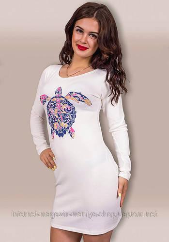 Платье женское черепаха