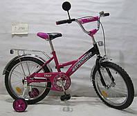 """Детский Велосипед EXPLORER 18"""" T-21811, фиолетовый"""