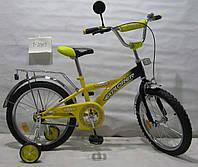 """Детский Велосипед EXPLORER 18"""" T-21813, желтый"""
