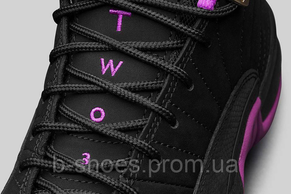 039b0d5c ... Женские баскетбольные кроссовки Nike Air Jordan 12 GS (Hyper Violet),  ...