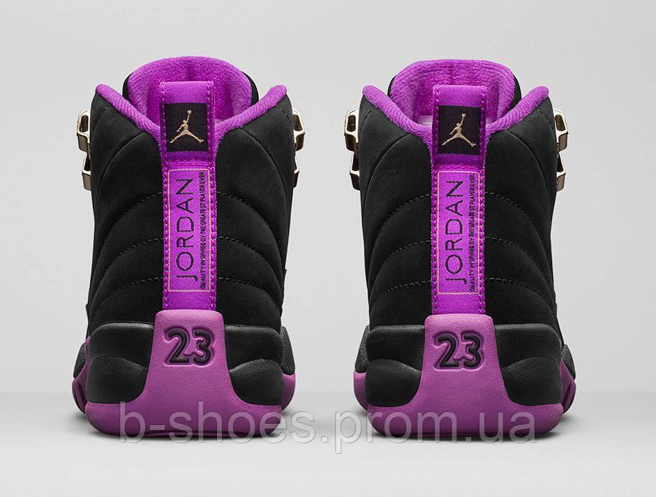 9774cade Женские баскетбольные кроссовки Nike Air Jordan 12 GS (Hyper Violet), цена  1 795 грн., купить в Киеве — Prom.ua (ID#338098758)