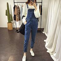 Комбинезон джинсовый женский W30 Комбинезоны джинсовые