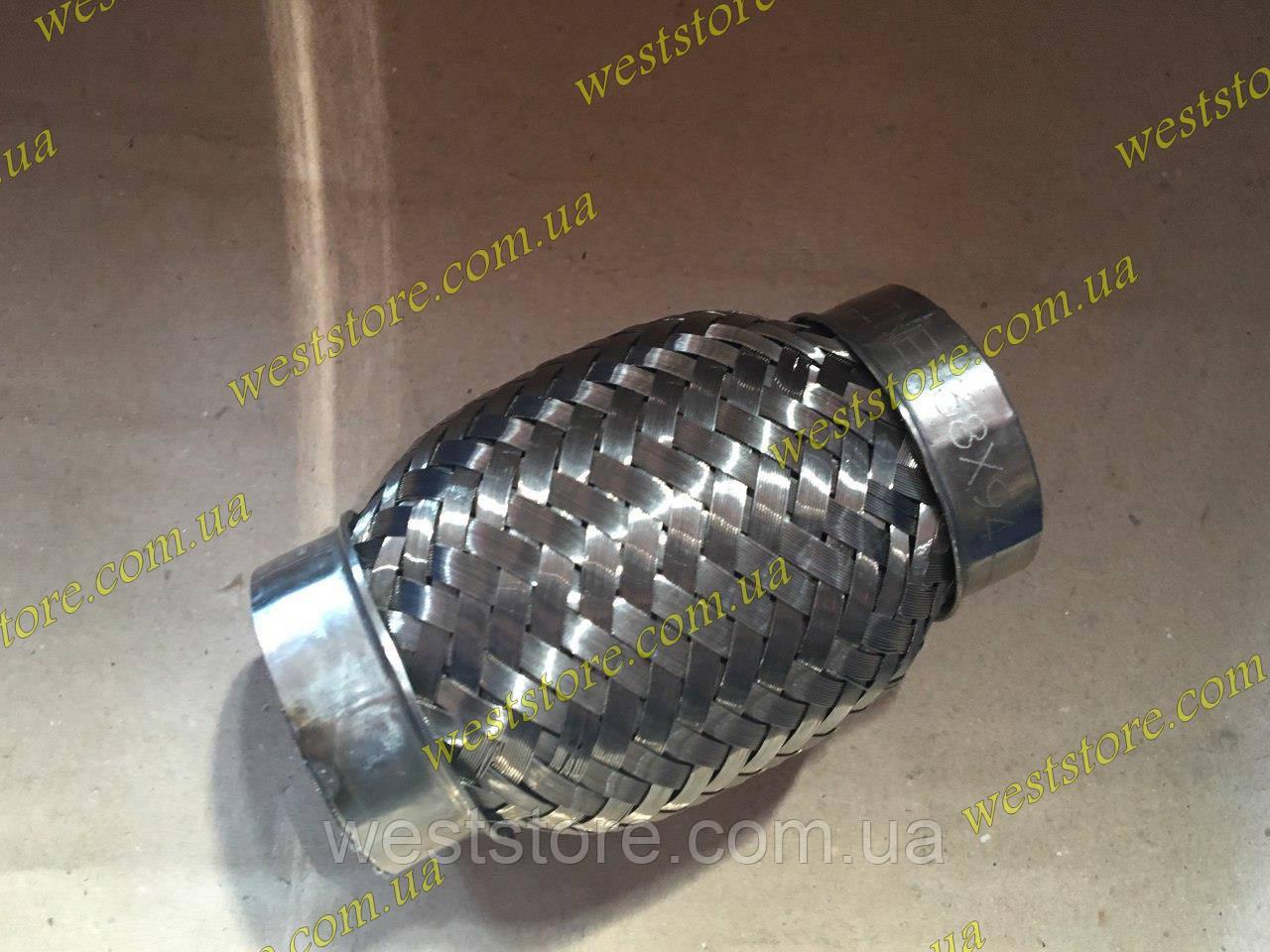 Гофра глушителя 38х94 (2-хслойная) VW , фото 1