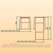 Кресло Фламинго 810/1120/1320/1510/1720мм х 1060мм от Берегиня, фото 3