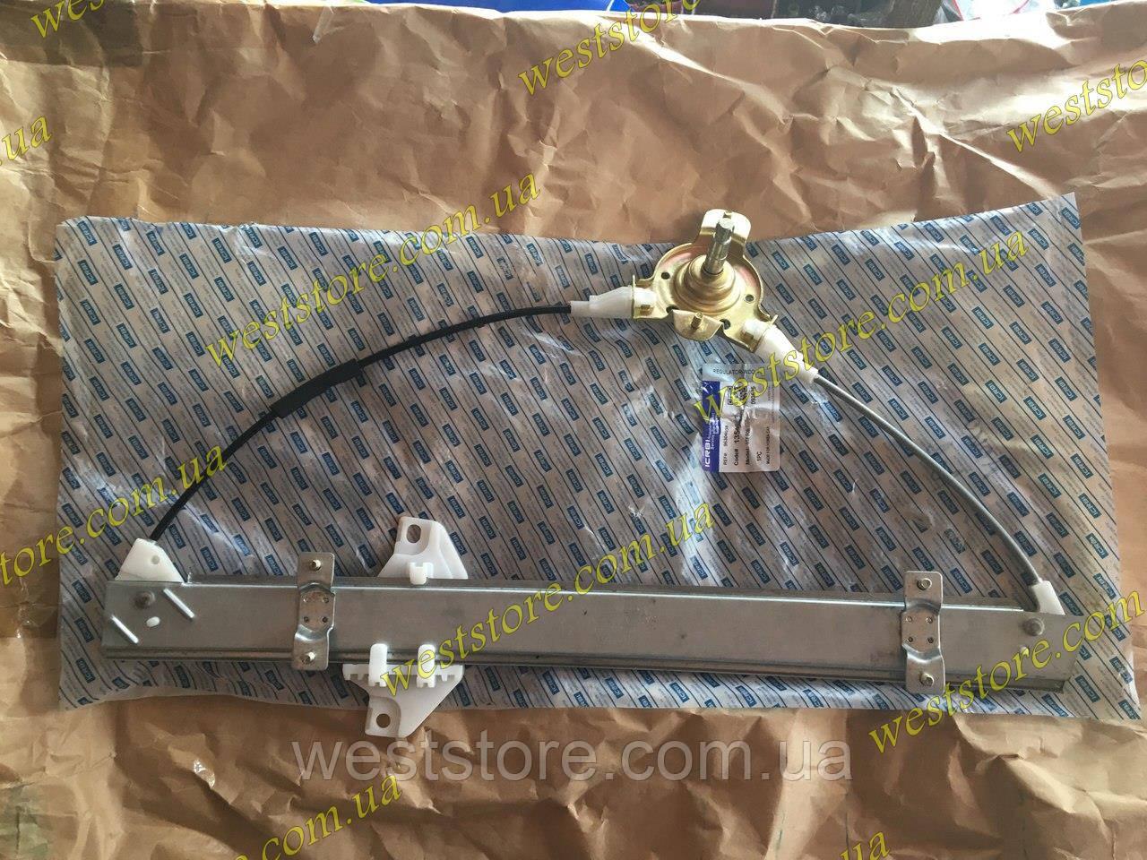Стеклоподъемник механический передний левый Ланос,Сенс,Lanos Sens CRB 96304038