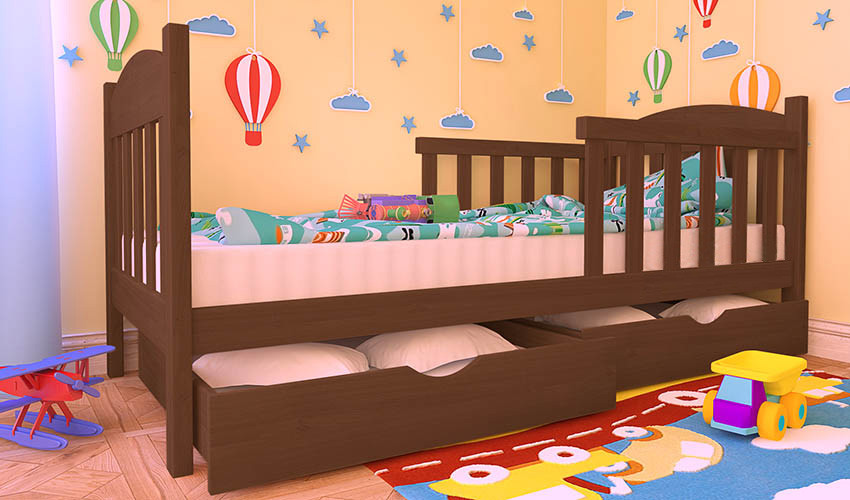 Детская кровать ФЛАВИ Люкс плюс