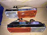 Подфарники Ваз 2103 2106 пластиковый корпус хром 2106-3712010, фото 2