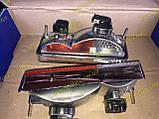 Подфарники Ваз 2103 2106 пластиковый корпус хром 2106-3712010, фото 3