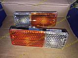 Подфарники Ваз 2103 2106 пластиковый корпус хром 2106-3712010, фото 6