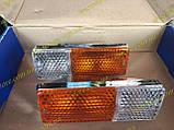 Подфарники Ваз 2103 2106 пластиковый корпус хром 2106-3712010, фото 7