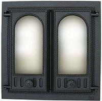 Дверца каминная чугунная SVT 401 500x500mm