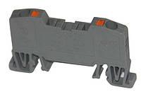 Клеммы проходные пружинные ORK на DIN-рейку 16 mm2