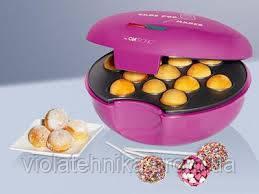 Аппарат для приготовления печенья. Кексница на 13 кексов Clatronic 3529 CPM pink