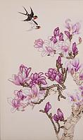 Набор для вышивания бисером FLF-113 Магнолия цветёт 30*50 Волшебная страна качественный