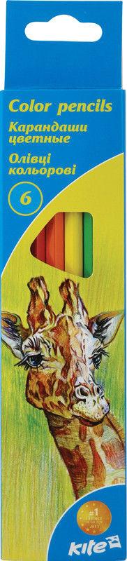 Цветные карандаши KITE K15-050K 6цв