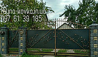 Кованные ворота 13330