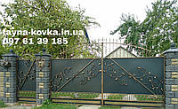 Кованые ворота 13330