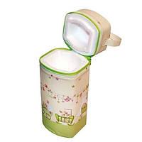 Термоконтейнер универсальный Ceba Baby Jumbo 70*80*230 мм беж-салатовый гномики в постели 60617