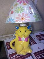 """Настольная лампа """"Кошечка с бантиком"""", фото 1"""