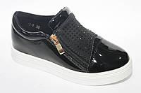 Детские закрытые туфли на девочек от фирмы Yalike (разм. с 30-по 37)