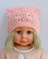Шапочка детская Амели мини (ажурная), фото 1