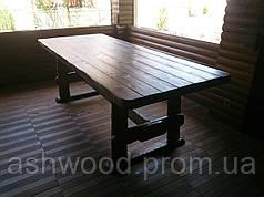 Стол деревянный садовый/Стіл дерев'яний садовий