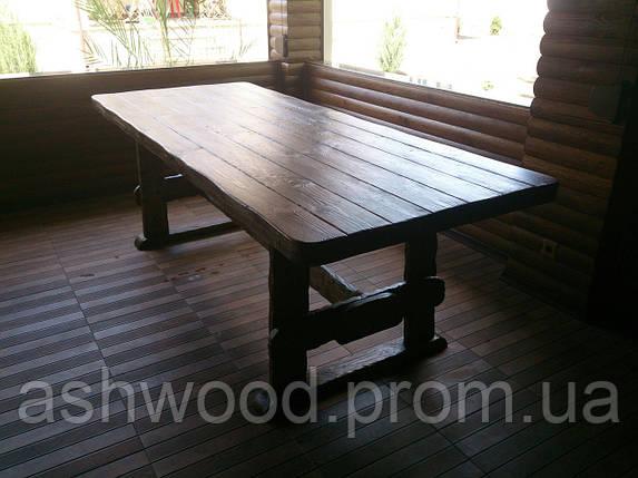 Стол деревянный садовый/Стіл дерев'яний садовий, фото 2
